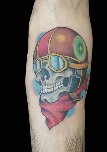 tattoo SKULLBIKER